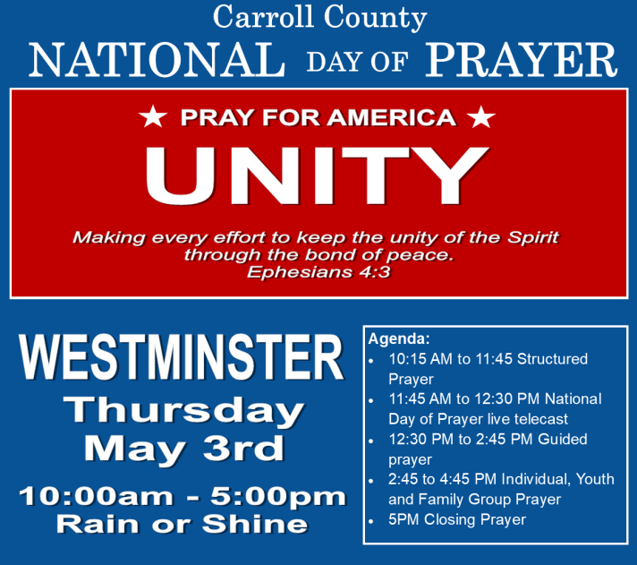 2018 Carroll County National Day of Prayer short